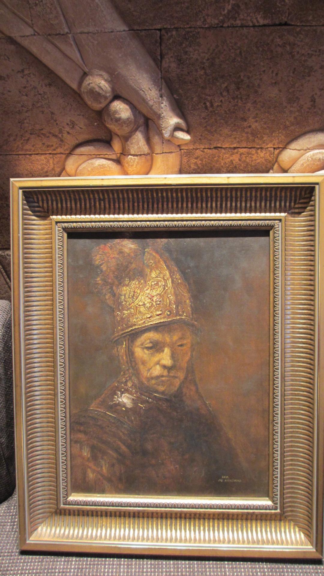 gemelde lbild leo wendland der mann mit dem goldhelm rembrandt schmuck service flammschmuck. Black Bedroom Furniture Sets. Home Design Ideas